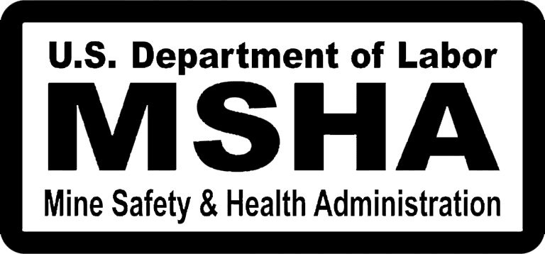 Mine and Safety Health Administration Logo