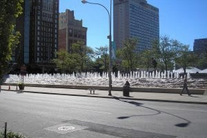 Barney Allis Plaza Fountain